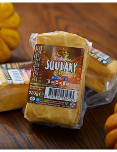 Yorkshire Squeaky Cheese - Oak Smoked