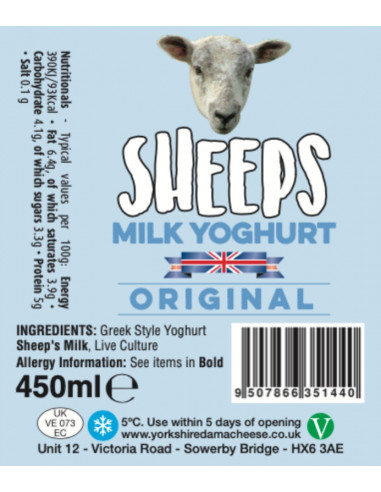Sheep's Milk Yoghurt